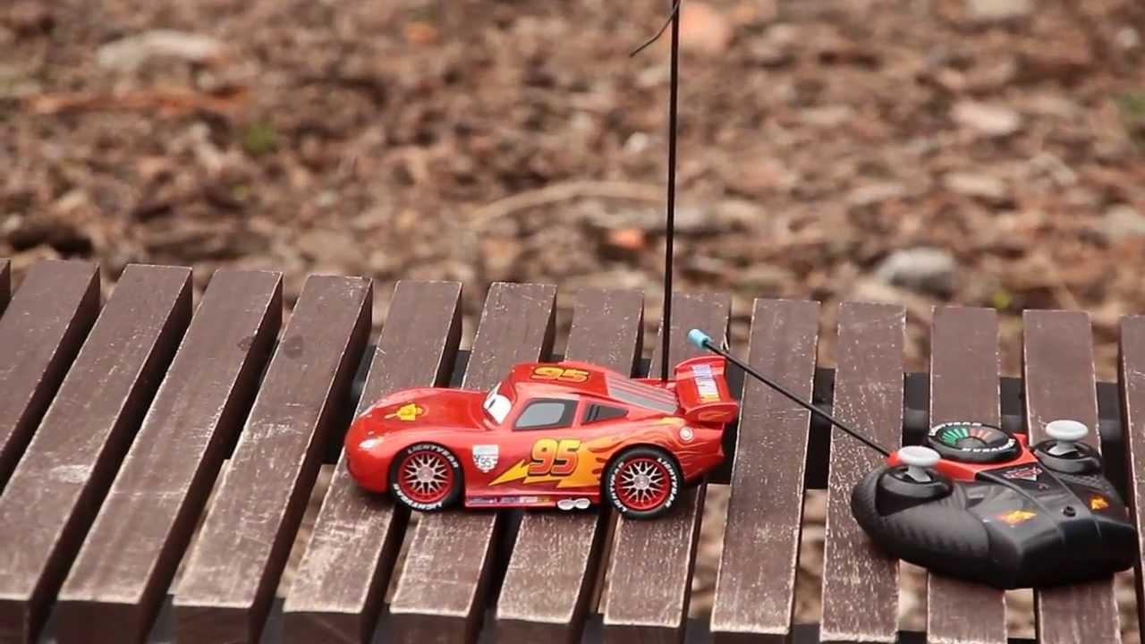 Chwalebne Prezentacja - Turbo RC Racer McQueen / Zdalnie Sterowany Zygzak QM07