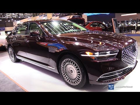 2020 Genesis G90 – Exterior and Interior Walkaround – 2019 Montreal Auto Show