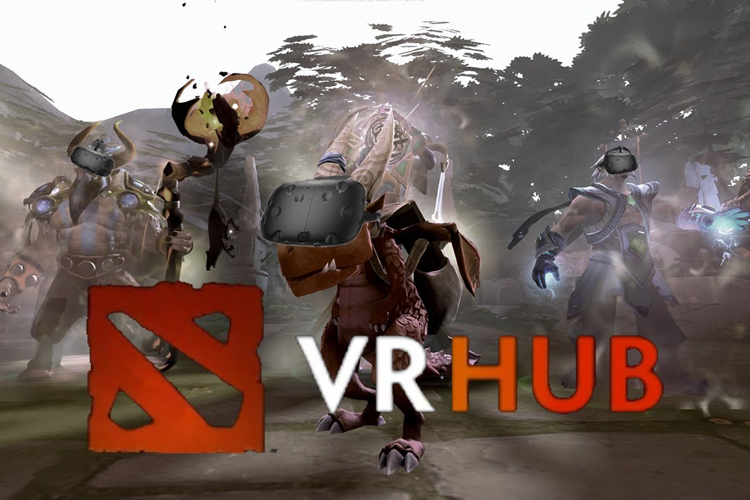 First time in DOTA2 VR HUB - It's AMAZING!