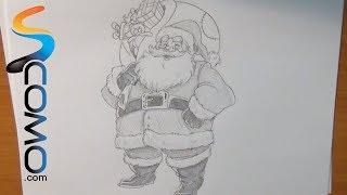 Aprende a dibujar a Papa Noel