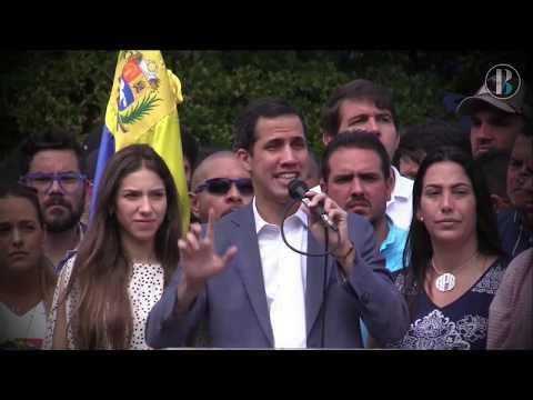 Fiscalía de Venezuela pide que se prohíba a Juan Guaidó salir del país