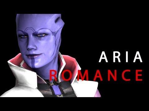 [Mass Effect] Omega: Aria Romance? SPOILERS
