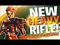 *NEW* HEAVY ASSAULT RIFLE REACTION/ANALYSIS! (Fortnite BR Full Match)
