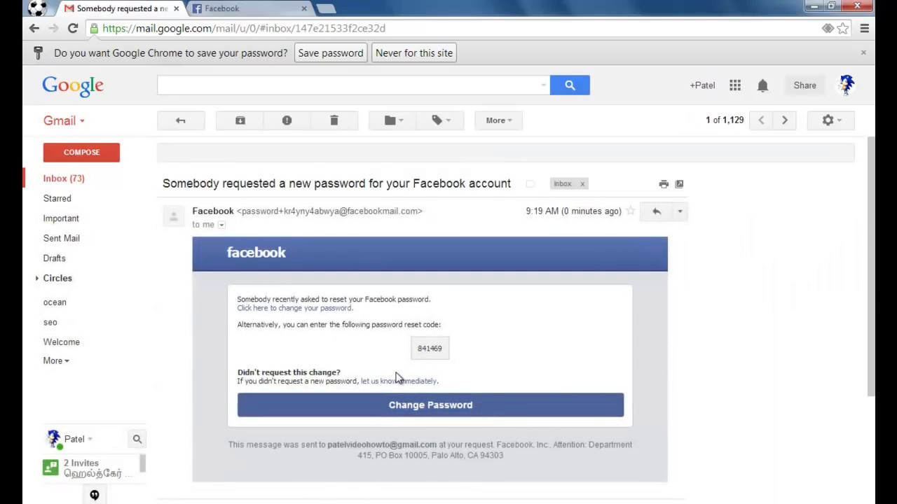 How To Reset Facebook Password: Most Easy Way