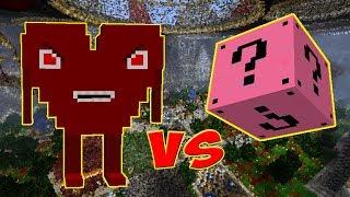 AMOR MALVADO VS. LUCKY BLOCK DO AMOR (LUCKY BLOCK CHALLENGE MINECRAFT)