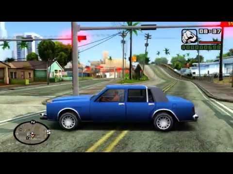 GTA San Andreas [PC] Remastered HD Textures & HQ Models MMGE ENB 1080p