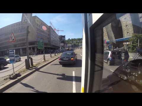 SSB - Die Doku goes GoPro: Linie 23E Fernsehturm-Straßenbahnwelt