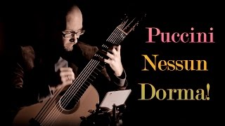 Nessun dorma on classical guitar (free PDF at newcenturyguitar.com)