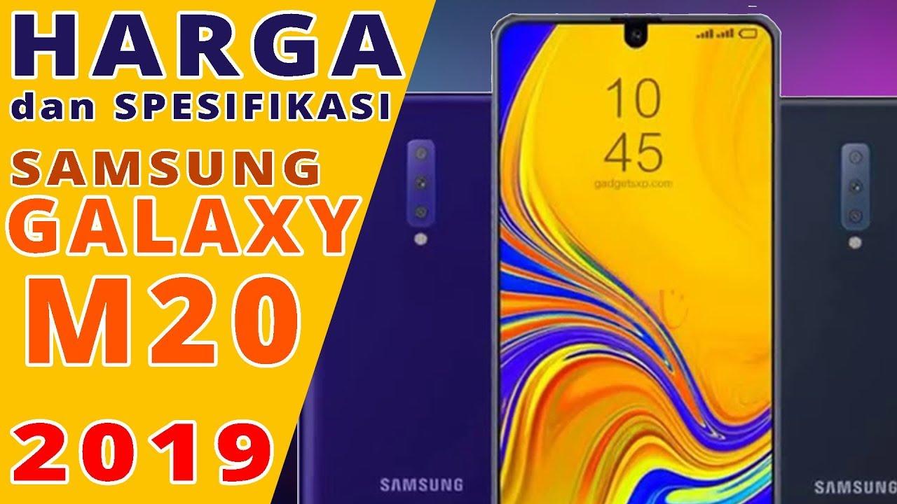 Samsung Galaxy M20 2019 Harga Dan Spesifikasi Indonesia Youtube