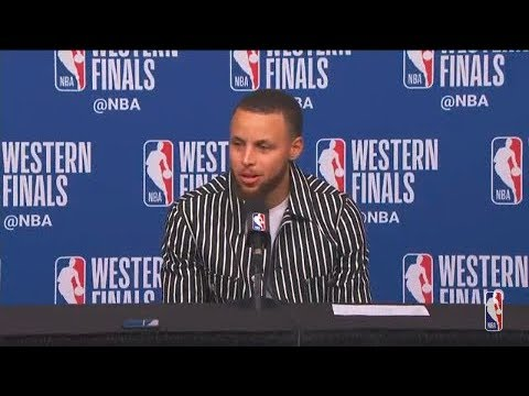 Stephen Curry Postgame Interview | Warriors vs Rockets Game 5