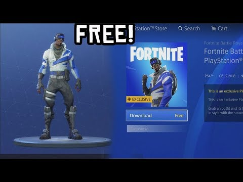 how to download free playstation skin in fortnite new - skin fortnite ps plus saison 8