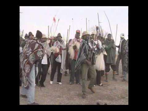 Traditional Basotho song by Lesotho men