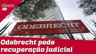 Quebrada, Odebrecht entra com pedido de recuperação