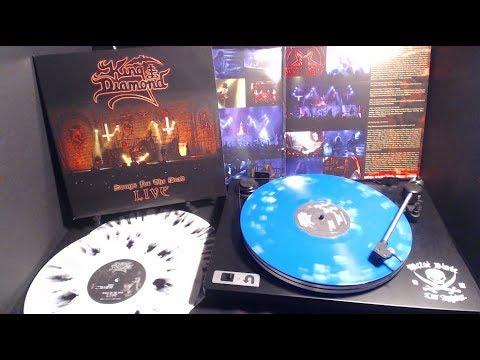 "King Diamond ""Songs for the Dead Live "" LP Stream"