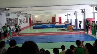 福建中學附屬學校2011校園生活體驗曰 ~ 體操表演