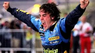 Fernando Alonso -  F1 \\ 200GP // Tribute [Antena3]