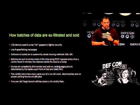 DEF CON 23 Conference   Weston Hecker   Goodbye Memory Scraping Malware