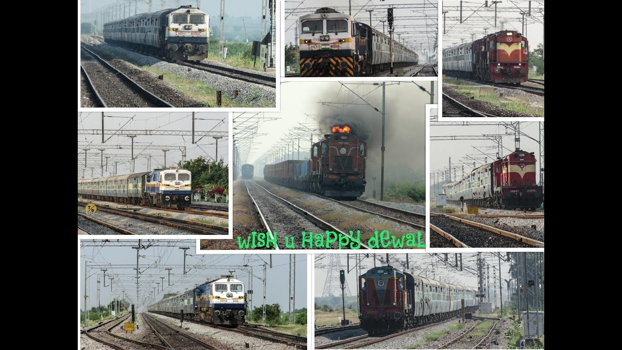 Download Happy Diwali !! Aggressive ALcos + EMD : Indian Railways
