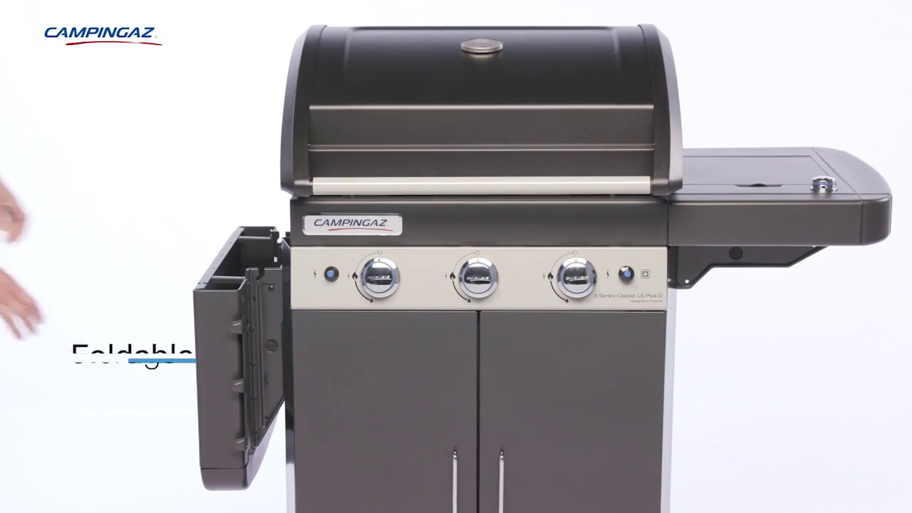 Campingaz Bbq Campingaz 3 Series Classic Ls Plus D 3 Burner Bbq With Side Burner