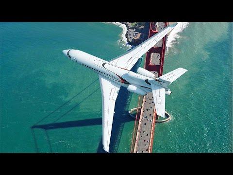 The New Ultra Long Range Falcon 8X