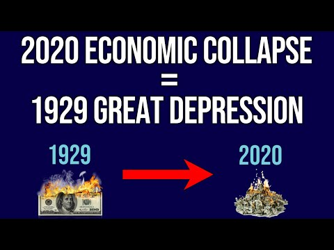 Why The 2020 Economic Collapse Is Similar To The 1929 Great Depression