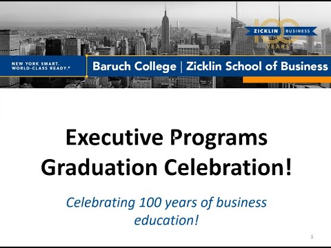 zicklin-executive-program-celebration-2020