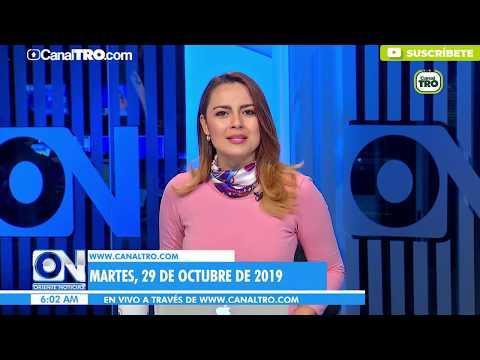 Oriente Noticias primera emisión 29 de Octubre
