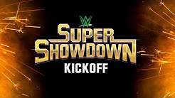 WWE Super ShowDown Kickoff: Feb. 27, 2020