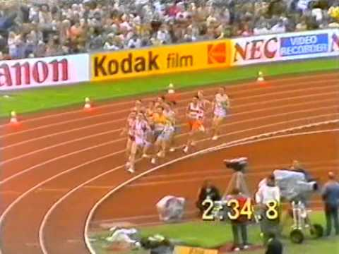 Cram v Coe - European Athletic Championships 1986 1500 mtrs Final