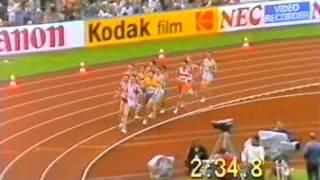 Cram v Coe - European Athletic Championships 1986 1500 mtrs Final