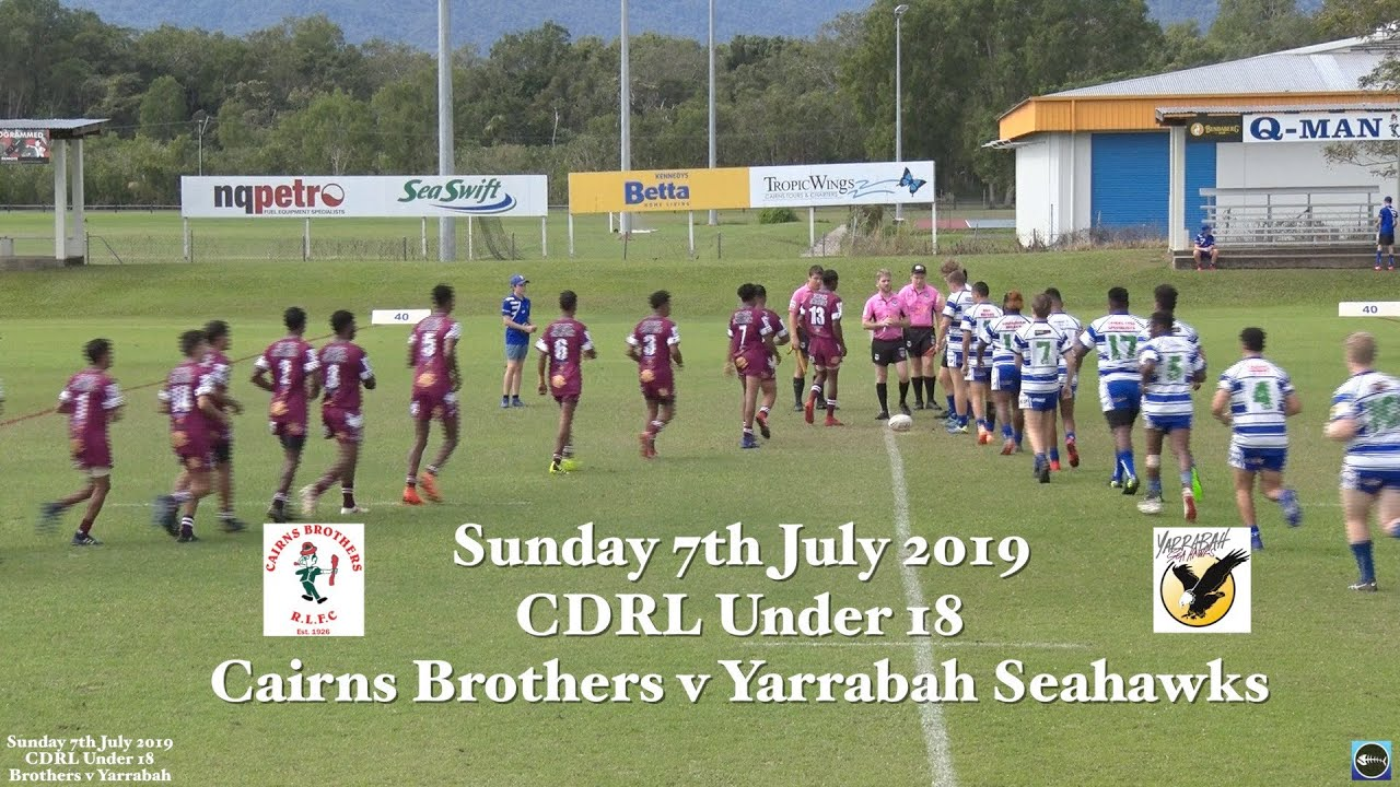 2019 Cairns Brothers v Yarrabah Seahawks   Cairns Brothers Rugby