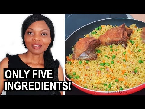 Cook with Me: 5 Ingredient Nigerian Fried Rice | Flo Chinyere