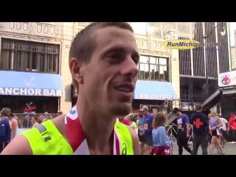 Interview: Jonathan Mott, 2017 Detroit Free Press Marathon Men's Champion