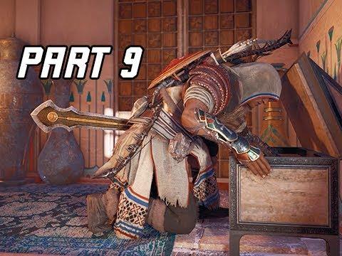 Assassin's Creed Origins Curse of the Pharaohs Walkthrough Part 9 - TYCHON