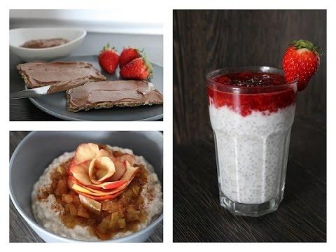 3 gesunde und kalorienarme snacks schlankr rezepte youtube. Black Bedroom Furniture Sets. Home Design Ideas