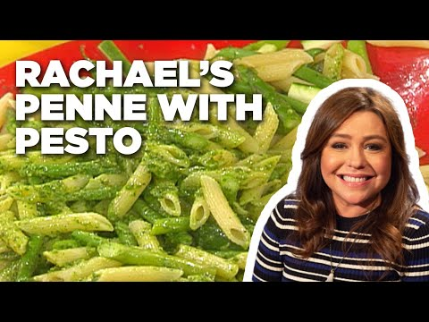How To Make Rachael's Three Vegetable Penne With Tarragon Basil Pesto | Food Network