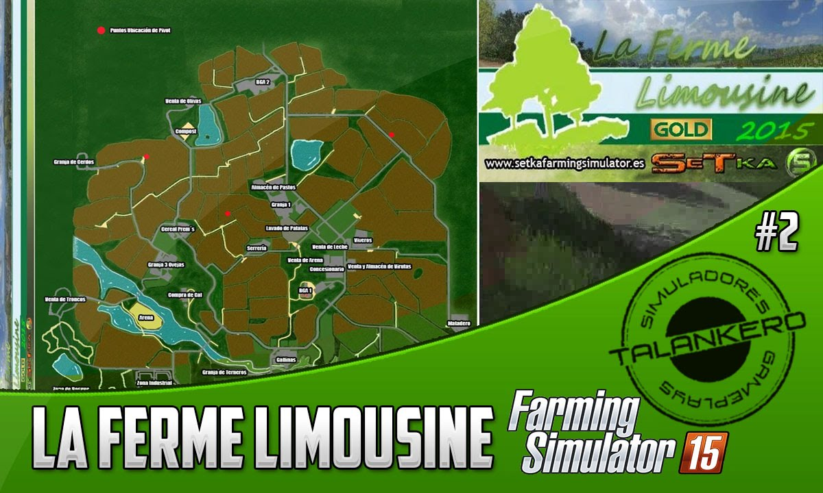 Farming Simulator La Ferme Limousine GOLD By Setka YouTube - Southern norway map ls15