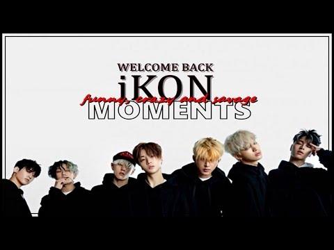 [ENG SUB] iKON - FUNNY, CRAZY AND SAVAGE MOMENTS #1 [iKON ON CRACK]