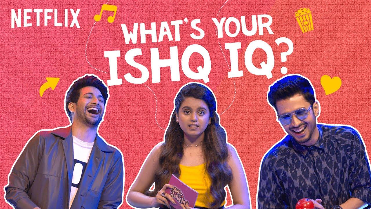 The Ultimate Love Quiz ft. @Aishwarya Mohanraj, Rohit Saraf, Amol Parashar, & More! | Netflix India
