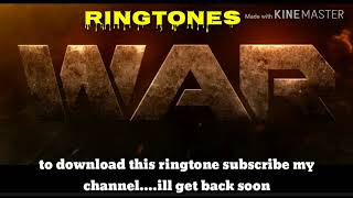War movie trailer title track ringtone download how to d...