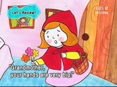 Красная шапочка на английском языке мультфильм