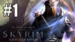 Skyrim Dragonborn DLC Gameplay Walkthrough Part 1 - Traveling to Solstheim (Gameplay/Commentary)