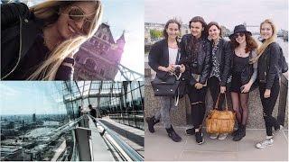 LONDON | dámská jízda | VLOG 1 ze 3 || cz+en