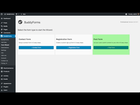 Enable front end posting with WordPress