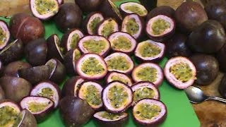Processing Passionfruit for the Freezer & Making a Passionfruit Drink. thumbnail
