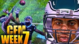 MADDEN 16 Career Mode Gameplay - GAME OF THE WEEK! Worst QB Vision Ever