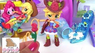 Май Литл Пони Мультик. Эпплджек Готовится к Школьной Дискотеке AppleJack School Dance Set Куклы
