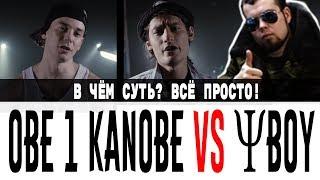 В чём суть? Краткий пересказ - Obe 1 Kanobe VS ΨBOY (VERSUS vs SLOVOSPB)