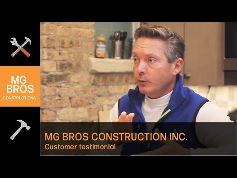 General Contractor Testimonial - Chicago, IL - MG Bros Construction Inc.