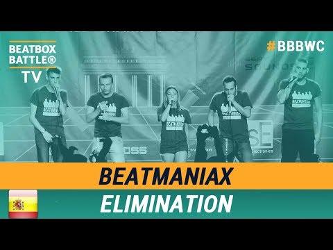 BeatmaniaX from Spain - Crew Elimination - 5th Beatbox Battle World Championship